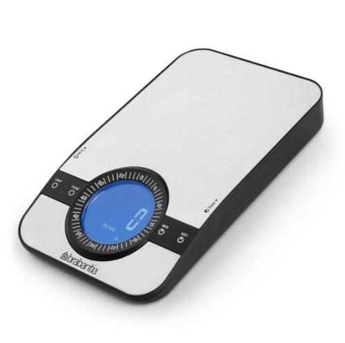 Brabantia 480607 Digitale keukenweegschaal 'Profile' rechthoekig met timerfunctie