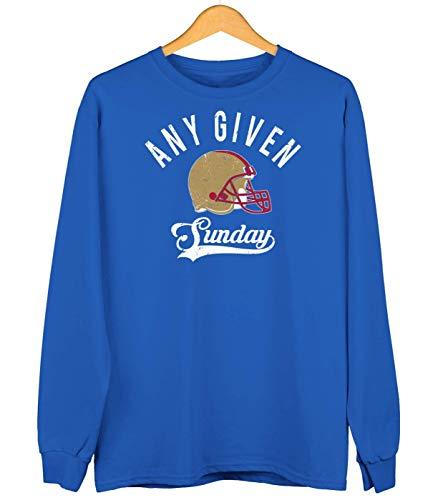 Preisvergleich Produktbild 49ers Any Given Sunday Forty-Niners San Francisco Football Premium Sweatshirt Kinder Unisex Sweater Pullover,  Farbe:Royalblau (Royal Blue JH030k),  Größe:3-4 Jahre (104)