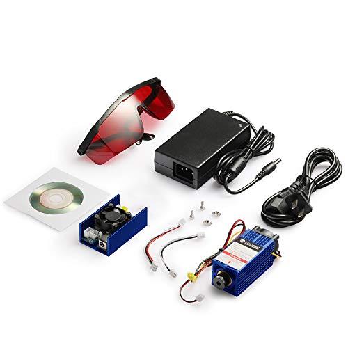 SainSmart 445nm/5.5W Blue Laser Module Kit for Genmitsu CNC Machine 3018-MX3/3018-PROVer