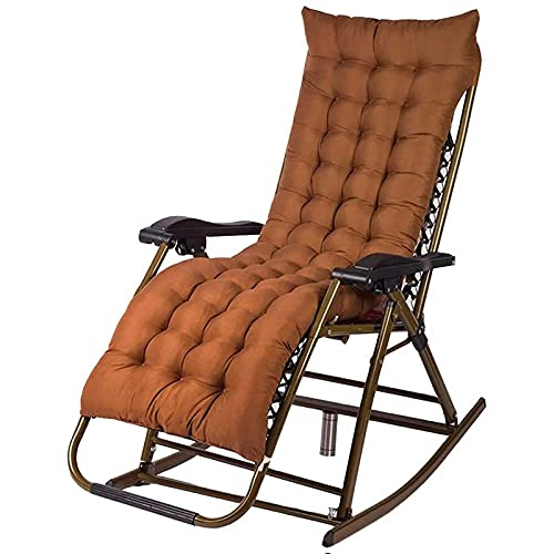 Tumbona de playa, Silla reclinable de la malla de la malla de la gravedad cero plegable con la almohada del reposacabezas y el cojín grueso opcional, la silla de salón del salón del patio, silla durad