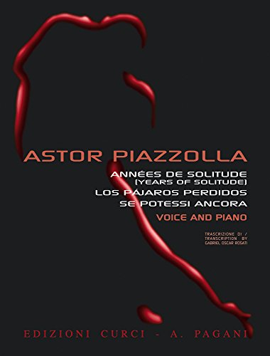Piazzolla: Anthology for Voice and Piano