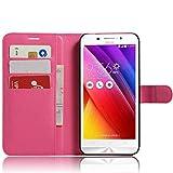 Guran Housse en Cuir PU pour ASUS Zenfone Max ZC550KL Smartphone Flip Cover Magnétique Portefeuille...