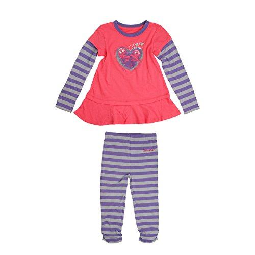 Converse Baby Kinder Dress and Leggings Set Hollyhock - 80-85