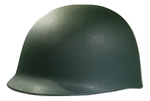 Nicky Bigs Novelties Adult Army Helmet Costume, Olive Drab Green, One Size