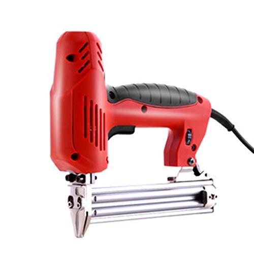 ASWT Multifunctionele elektrische nietmachine, 2000 W, hoog vermogen voor het werken van houten nagels, geschikt voor doe-het-zelvers, reparatie van meubels, decoratie enz.