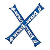 Fun Express Blue Spirit Boom Sticks (24 Sticks Makes 12 Sets) Says We are Number 1