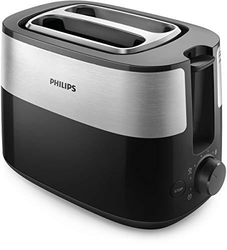 Philips Daily Collection HD2516/90 broodrooster 2 schijven (sen) zwart 830 W