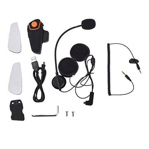 Auricular para casco de moto, intercomunicación, BT-S2, universal, inalámbrico, para 2 o 3 conductores