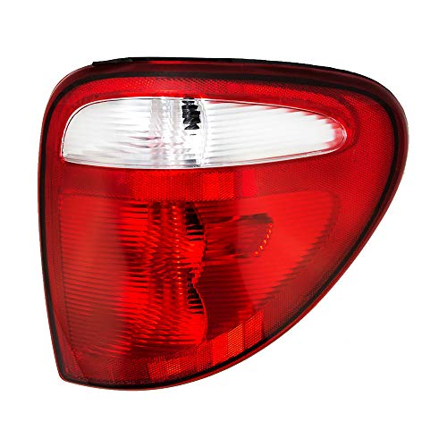 Epic Lighting OE Style Replacement Rear Brake Tail Light Assembly for 2001-2003 Chrysler Dodge Town & Country Caravan Grand Caravan Voyager [ CH2801140 4857600AH ] Right Passenger Side RH