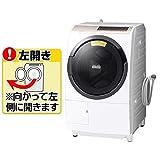 日立 11.0kg ドラム式洗濯乾燥機【左開き】ホワイトHITACHI BD-SV110EL-W
