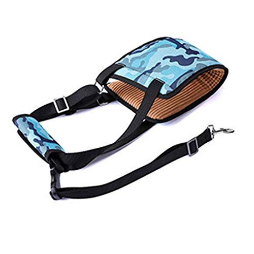 Haodan electronics Hundegeschirr Hebegeschirr Beinstütze Hinterbein Gehhilfe for Hunde Pet Balance Harness Auxiliary Belt Strap for Hunde mit Behinderung im hohen Alter (Color : Blue)