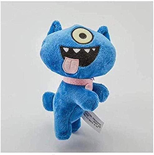 NC56 Plush Toy Anime Cartoon Ox Moxy BABO Plush Toy Uglydog Stuffed Plush Dolls Soft Ugly Gifts for Children Kids -18cm Gifts