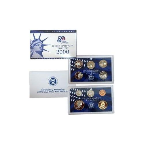 2000 Proof Set 10 Coin Set