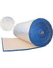 BBGS Aluminium folie zelfklevende isolatie schuim, rubber kunststof kleur stalen zon kamer dak isolatie watertank industrie pijp antivries waterpijp wrap (Color : Blue, Size : Pack of 5-20mm)