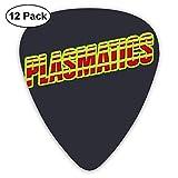 Fashion Plasmatics Guitar Picks (paquete de 12) para guitarra eléctrica, guitarra acústica, mandolina y bajo de guitarra