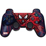 Skinit Decal Gaming Skin for PS3 Dual Shock Wireless Controller - Officially Licensed Marvel/Disney Spider-Man Crawls Design