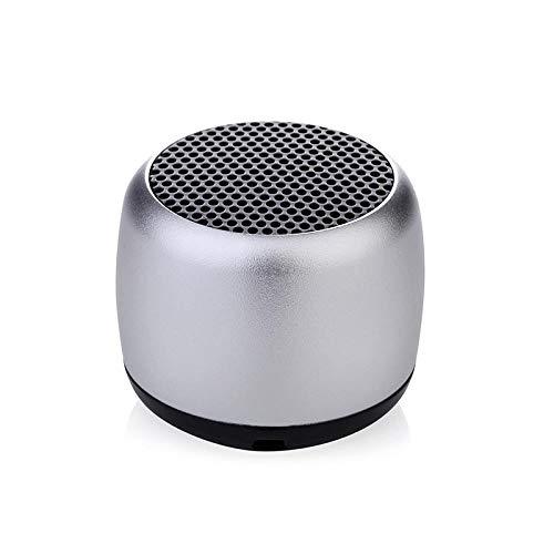 Luidspreker, stereo waterdichte bluetooth-luidspreker outdoor-sport stofzuiger mini luidspreker subwoofer kleine luidspreker TWS mini stalen kanon creatieve mini-luidspreker cadeau B
