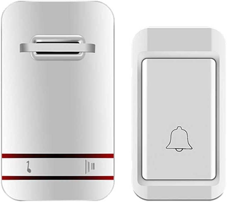 At the price ZLDCTG Waterproof Wireless Doorbell Self-Powe Battery sale Without in