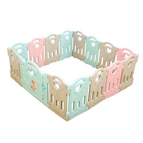 Relaxbx kunststof babyhek, kinderspeelhek, home baby game omheining, veilig en duurzaam, geschikt voor binnen en buiten