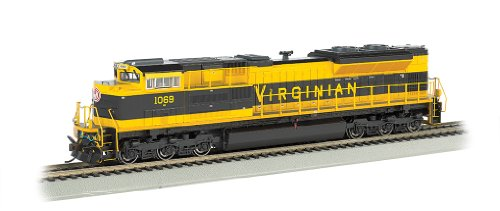 Bachmann 66005 H0 EMD SD70ACe w/Sound & DCC - Heritage Editions -- Norfolk Southern #1069 (Virginian; Black, yellow)