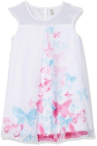 Losan Mädchen Kleid 816-7792AD, Weiß (Blanco 001), 3 Jahre