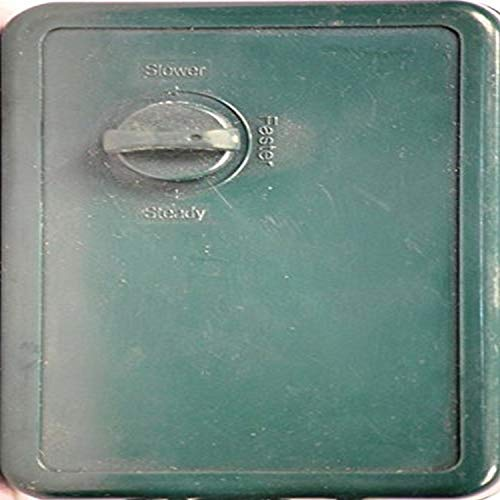 Queens of Christmas WL-CONT-2-CH 2 Channel Flasher Speed Control Dial, green