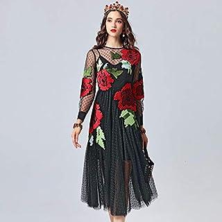 Amazon.es: Flores Negras Vestidos Mujer: Ropa