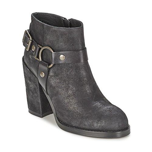 ASH Falcon Botines/Low Boots Mujeres Negro Botines