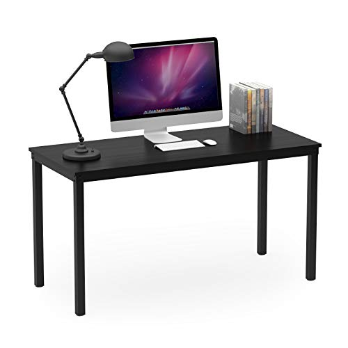 "Teraves Computer Desk/Dining Table Office Desk Sturdy Writing Workstation for Home Office(39.37"", Black)"
