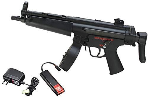 【90日安心保証付】【3点セット】東京マルイ ハイサイクルカスタム電動ガン MP5A5 HC+(バッテリー)+(充電器) 18歳以上用