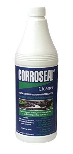 Corroseal Green Rust Converter Application Cleaner, Quart, 32 oz. Bottle, 800332