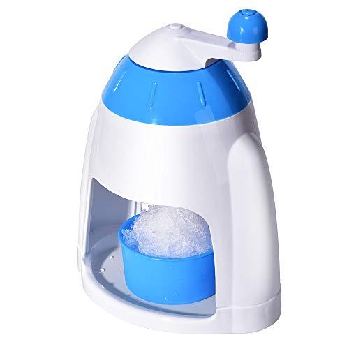 ZRXRY Tritaghiaccio, Manuale Portatile della manovella Cocktail Ice Shaver triturazione Neve Cono Maker Machine, Ice Cube Crusher, Uso Domestico