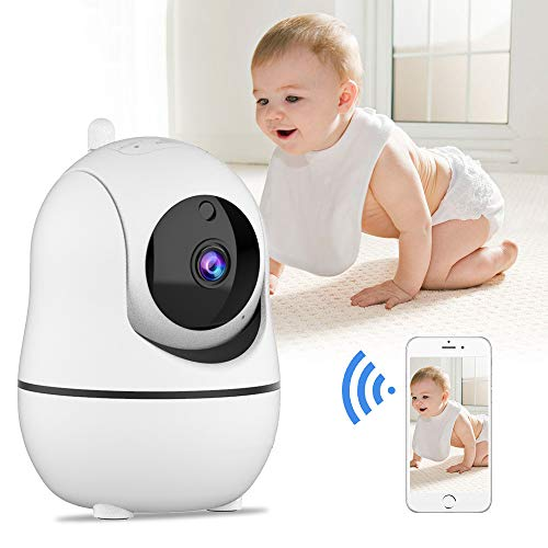 YXWC Baby Monitor with Camera and Audio Wireless WiFi Video Long Range Best 720P 2 Way Smart Motion Detection Security IP