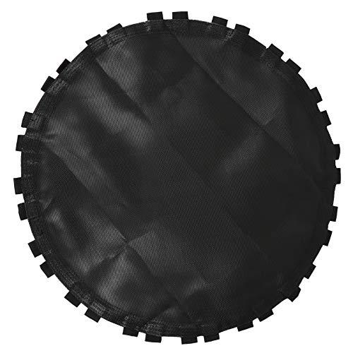 ABOOFAN Trampolín de repuesto negro de repuesto para trampolín con ganchos