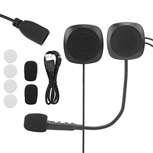 Qqmora Auriculares para Montar Auriculares Bluetooth Auriculares para Casco Excelente para la...