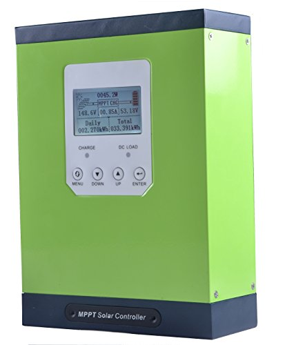 SUNNYSKY MPPT Charge Controller 50A LCD Display 12V 24V 48V Max 150VDC PV Input MPPT Charge Controllers for Solar Panels
