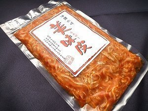 味付ミミガー キムチ 200g×5袋 上原ミート ヘルシー食材 コリコリ食感の豚の耳の皮 キムチ風のお惣菜