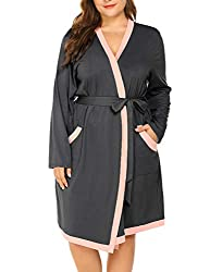 plus size robe for plus size hospital bag list