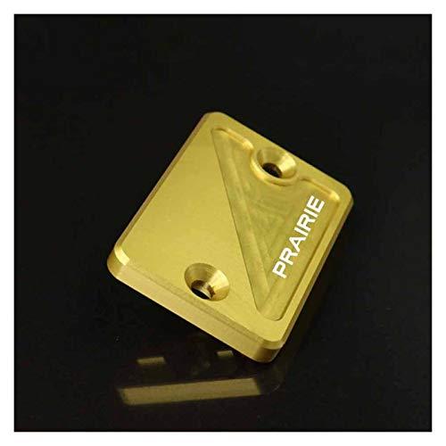 / Ajuste para Kawasaki / Prairie 400 650 700 300 1998-2005 Accesorios de motocicleta freno cilindro líquido tapa (color: oro)