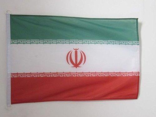 AZ FLAG Flagge Iran 90x60cm - IRANISCHE Fahne 60 x 90 cm Aussenverwendung - flaggen Top Qualität