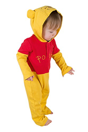 Disney Winnie the Pooh Jersey Romper with Hood 0-3 months