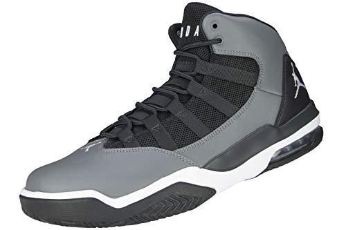 Nike Jordan Max Aura - Smoke Grey/White-dk Smoke Grey, Größe:10