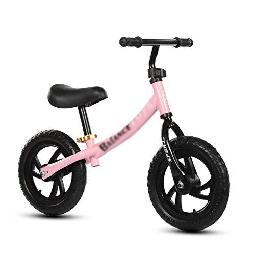 Bicicleta Equilibrio Balance de Bicicleta de la Bici Juegos de construcción al Aire Libre for niños Niños Scooter Walker Infantil Remolque Niño Niña Empuje Edad 2-5 años de Edad (Color : White)