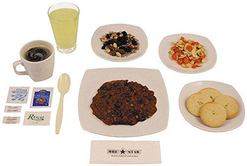 MRE Star Ready to Eat: 6Vegetarian Chili 1