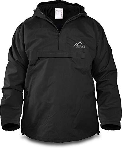 normani Winddichte Funktions-Jacke für Damen und Herren von S-4XL Farbe Black Größe XL