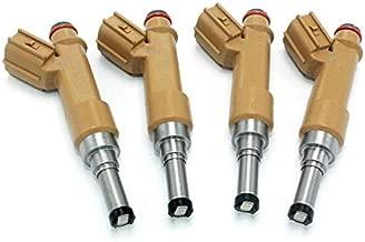Fuel Injectors Fits 2009-2010 For Toyota Matrix Corolla Scion xD 1.8L Pontiac Vibe 1.8L L4 (4)