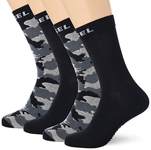 Diesel Herren Skm-ray-threepack Casual Sock, E3865-0tayo, M