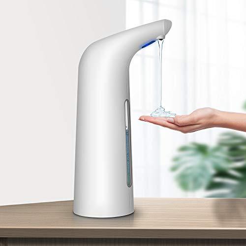 Sensor Seifenspender, 400ml Berührungsloser Infrared Sensor Seifenspender,Automatischer Seifenspender mit Bewegungssensor IP67 tiefes wasserdichtes Design,elektrischer Seifenspender für Bad/Küche