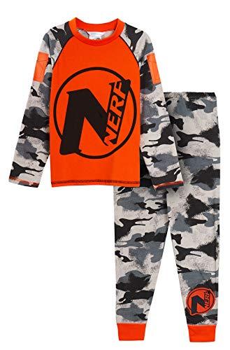 Nerf Jungen Pyjama/Pyjama/Pyjama für Kinder, volle Länge, Tarnmuster Gr. 9-10 Jahre, Nerf