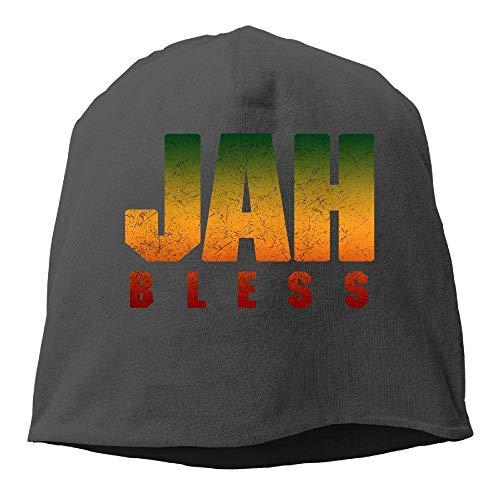 NA Jah Bless Rasta Flag Reggae Roots Winter Beanie Skull Cap Warm Strick Ski Slouchy Hat Durable